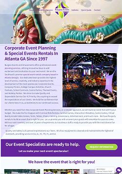 Amusement Park Rentals for Special Events Atlanta